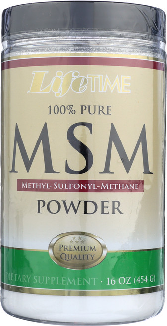 MSM 100% Pure 2500mg Powder 16oz 454g