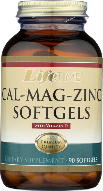 Cal Mag Zinc w/ Vit D 90 Softgels