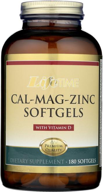 Cal Mag Zinc w/ Vit D 180 Softgels