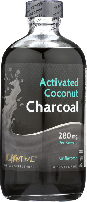 Activated Coconut Charcoal 8 Fl oz 237mL