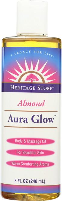 Aura Glow™ Almond Body Oil 8 Fl oz 240mL