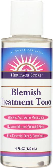 Blemish Treatment Toner Salicylic Acid Acne Medication 4 Fl oz 120mL