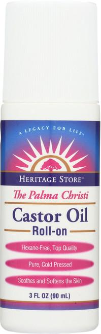 Castor Oil Roll-On 3 Fl oz 90mL