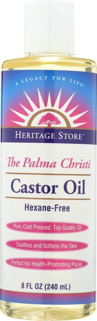 Castor Oil The Palma Christi Hexane-Free 8 Fl oz 240mL
