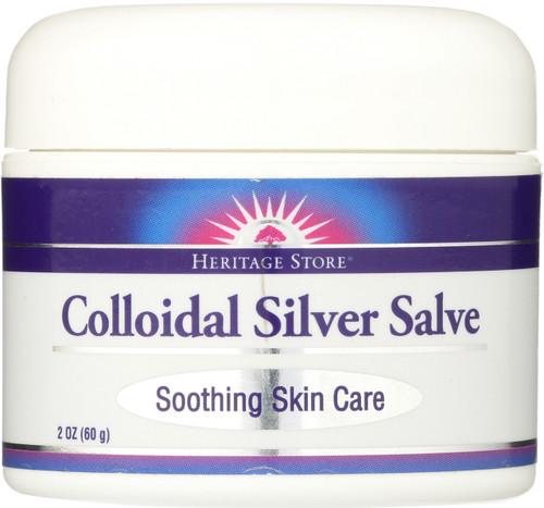 Colloidal Silver Salve 2oz 60g