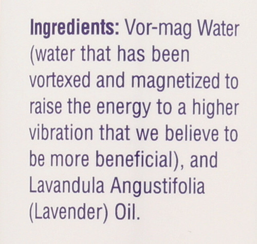 Flower Water Lavender 8 Fl oz 240mL