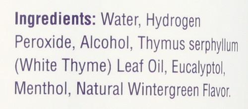 Hydrogen Peroxide Mouthwash Original Menthol 16 Fl oz 480mL