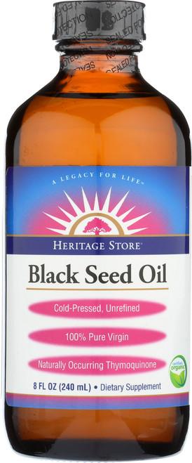 Black Seed Oil, Organic Natural 8 Fl oz 240mL