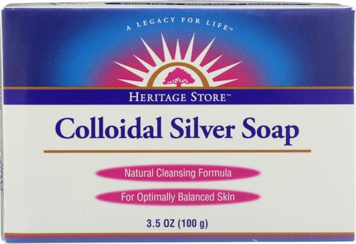 Colloidal Silver Soap 3.5oz 100g