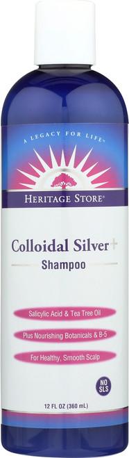 Colloidal Silver+ Shampoo 12 Fl oz 360mL