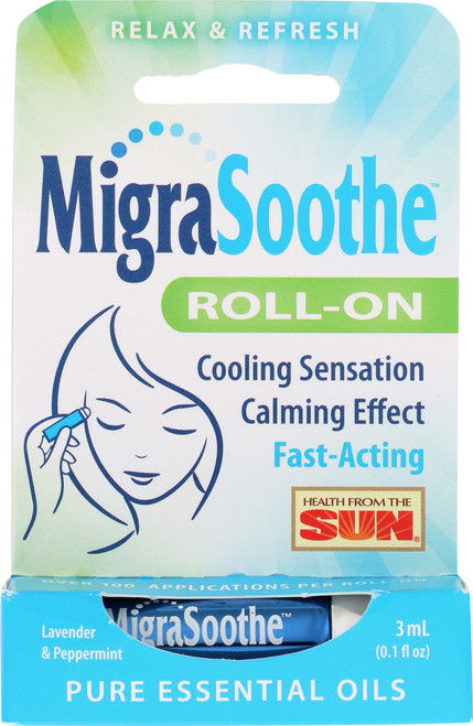 Migrasoothe Roll-On™ 3mL 0.1 Fl oz