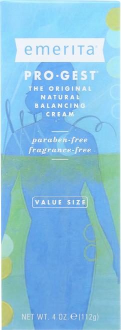 Pro-Gest Natural Balancing Cream Value Size 4oz 112g