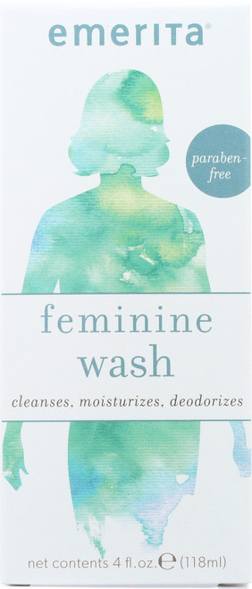 Feminine Cleansing & Moisturizing Wash 4 Fl oz 118mL