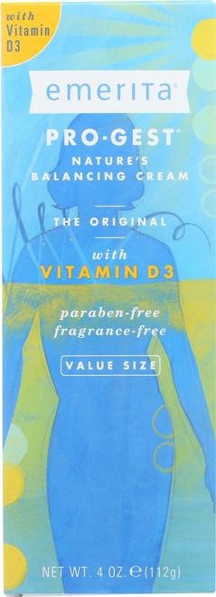 Pro-Gest® Balancing Cream With Vitamin D3 4oz 112g