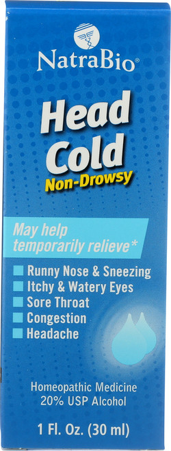 Head Cold Unflavored 1 Fl oz 30mL