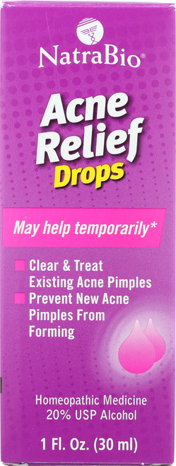 Acne Relief Unflavored 1 Fl oz 30mL