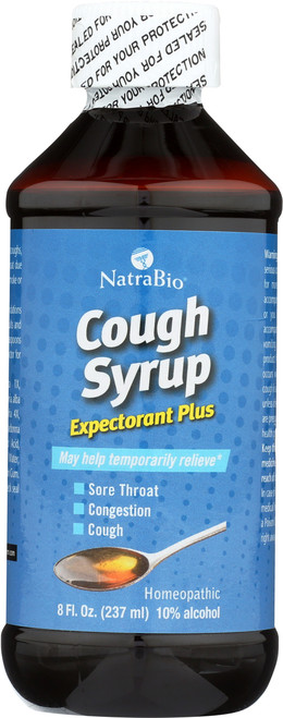 Adult Cough Syrup Peppermint 8 Fl oz 237mL