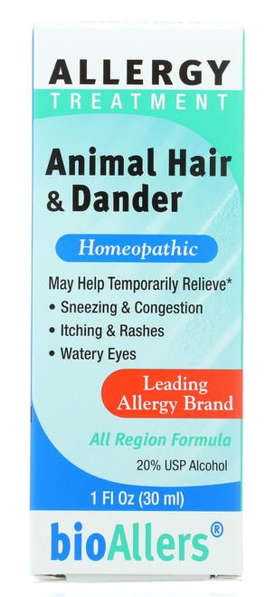Animal Hair & Dander Allergy Treatment 1 Fl oz 30mL