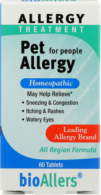 Pet Allergy Unflavored 60 Tablet