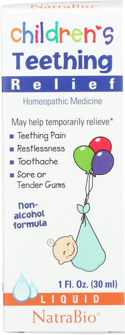 Children's Teething Unflavored 1 Fl oz 30mL