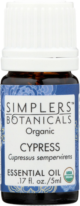 Cypress Organic Essential Oil 17 Fl oz 5mL