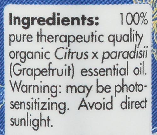 Grapefruit Organic 0.17 Fl oz 5mL