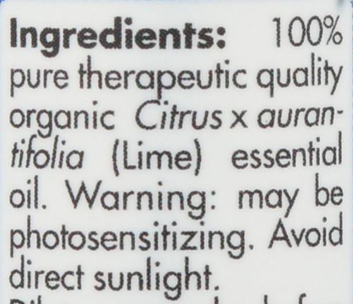 Lime Organic 0.17 Fl oz 5mL