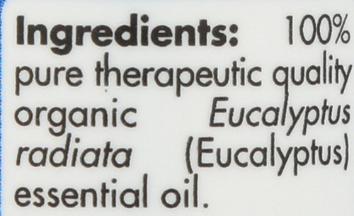 Eucalyptus Radiata Organic 0.5 Fl oz 15mL