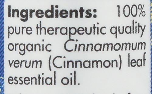 Cinnamon Leaf Organic 0.17 Fl oz 5mL