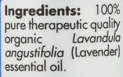 Lavender Organic 0.17 Fl oz 5mL