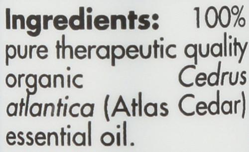 Cedar Atlas Organic 0.17 Fl oz 5mL