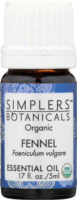 Fennel Organic 0.17 Fl oz 5mL