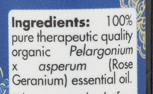 Geranium Rose Organic 0.17 Fl oz 5mL