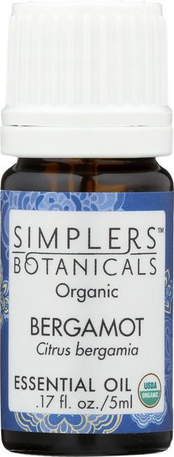 Bergamot Organic 0.17 Fl oz 5mL