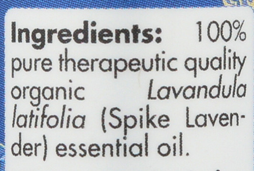 Lavender Spike Organic 0.17 Fl oz 5mL