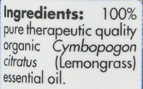 Lemongrass Organic 0.5 Fl oz 15mL