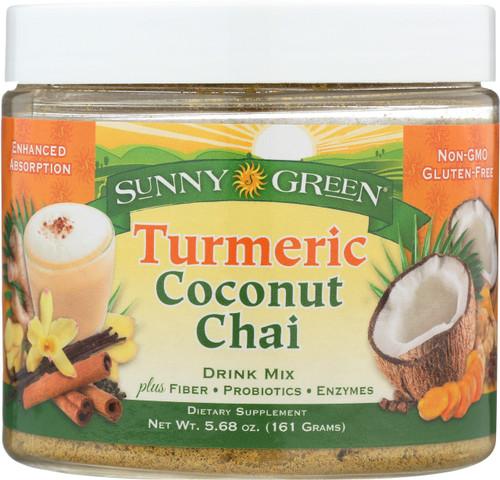 Turmeric Coconut Chai Drink Mix Chai Spice 5.68oz 161g