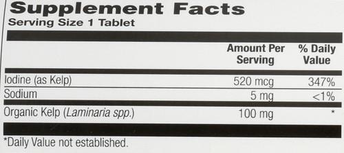 Kelp 120 Tablet