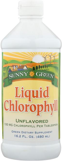 Chlorophyll Liquid Unflavored 16.2 Fl oz 480mL
