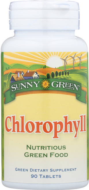 Chlorophyll Nutritious Green Food 90 Tablet