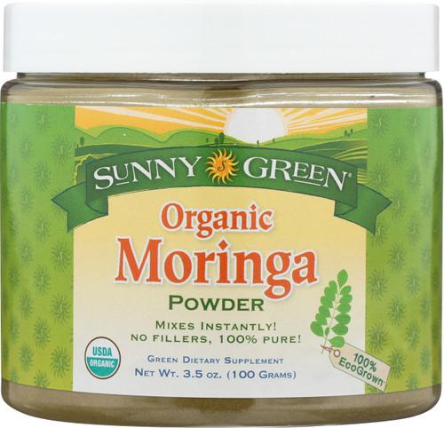 Moringa Leaf Powder, Organic Unflavored 3.5oz 100g