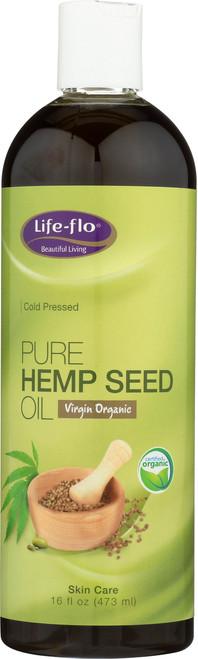 Pure Hempseed Oil Virgin 16 Fl oz 473mL