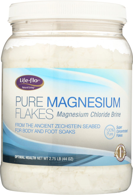 Pure Magnesium Flakes 2.75 Lb 44oz