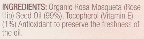 Pure Rosehip Oil Organic 1 Fl oz 30mL