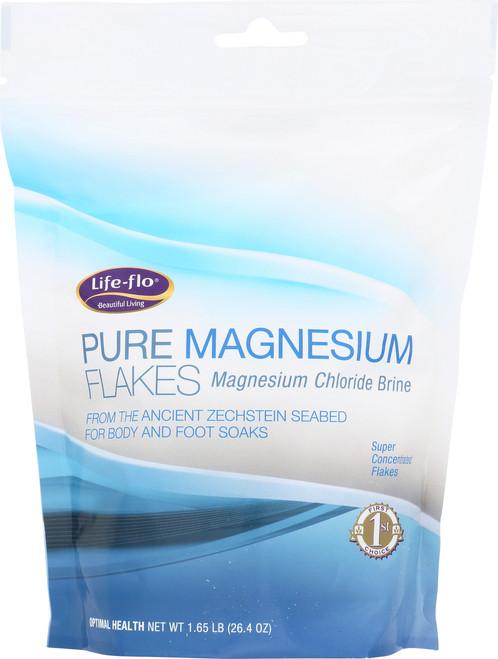Pure Magnesium Flakes Magnesium Chloride Brine 1.65 Lb 26.4oz