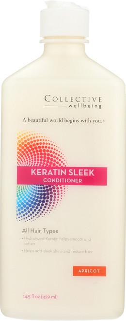 Keratin Sleek Conditioner 14.5 Fl oz 429mL
