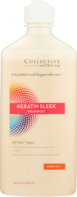 Keratin Sleek Shampoo 14.5 Fl oz 429mL