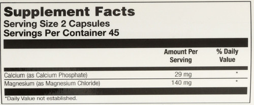 Magnesium Caps 90 Vegetarian Capsules