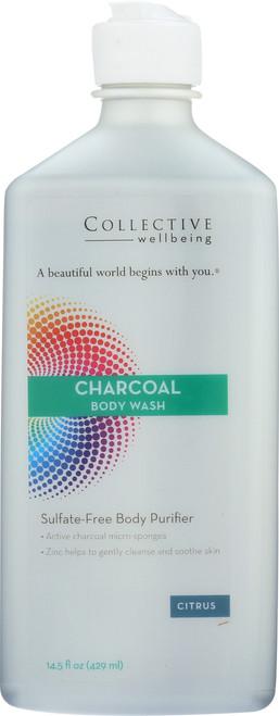 Charcoal Body Wash 14.5 Fl oz 429mL
