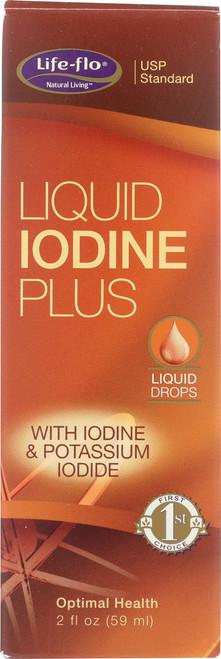 Liquid Iodine Plus Unflavored 2 Fl oz 59mL